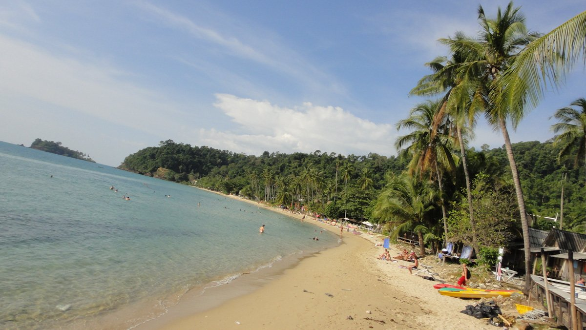 Ko Chang Loney Beach
