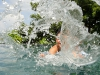 Abkühlung am Pool