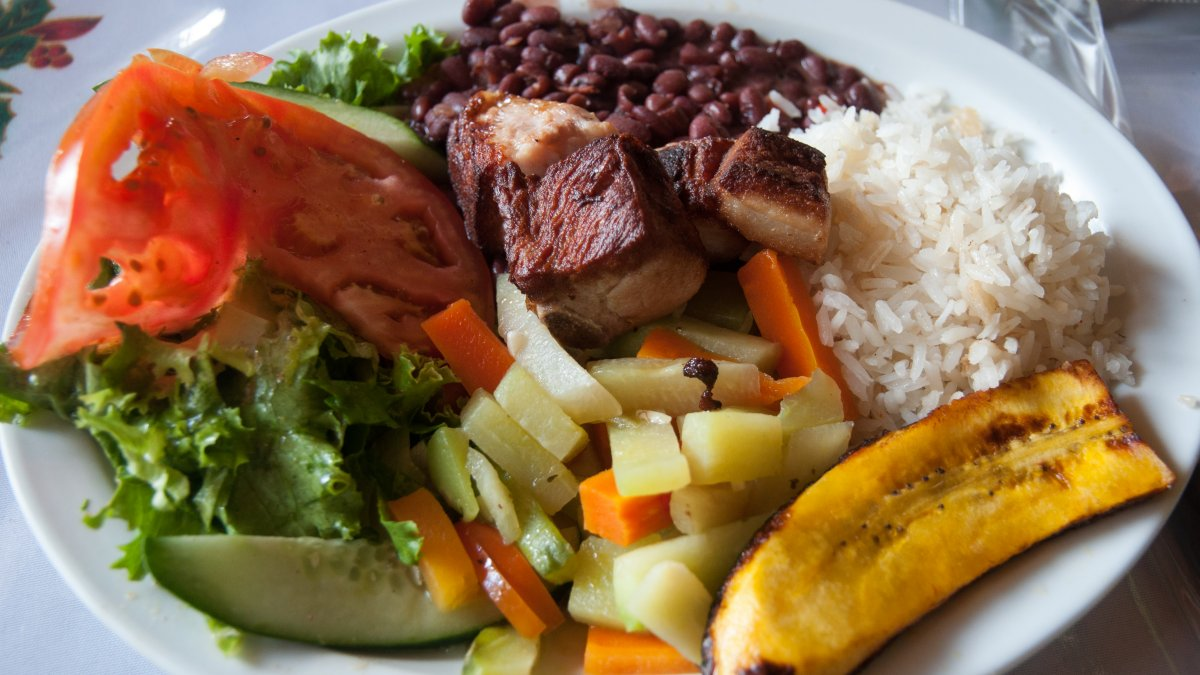 Costa Rico Tico Food