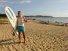 Surfing in Nosara