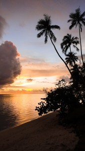 Moorea Sunset