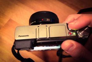 Pansonic GX80 Handling