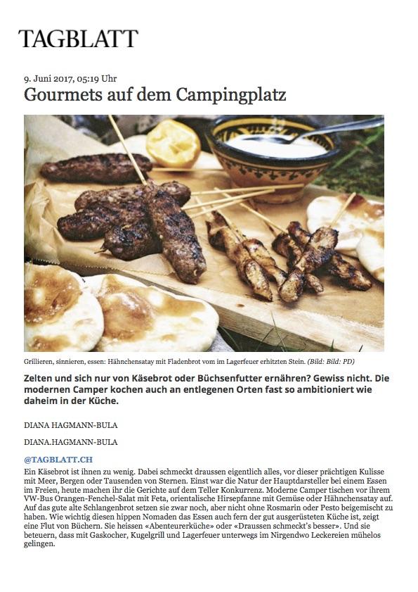 Gourmets auf dem Campingplatz | St.Galler Tagblatt